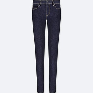 WOMEN ULTRA STRETCH MID RISE SKINNY JEANS (L33)