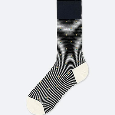 MEN YACHT SOCKS, NAVY, medium