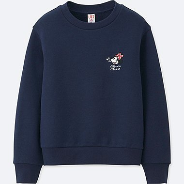 KIDS SOUNDS OF DISNEY PULLOVER SWEATSHIRT, NAVY, medium