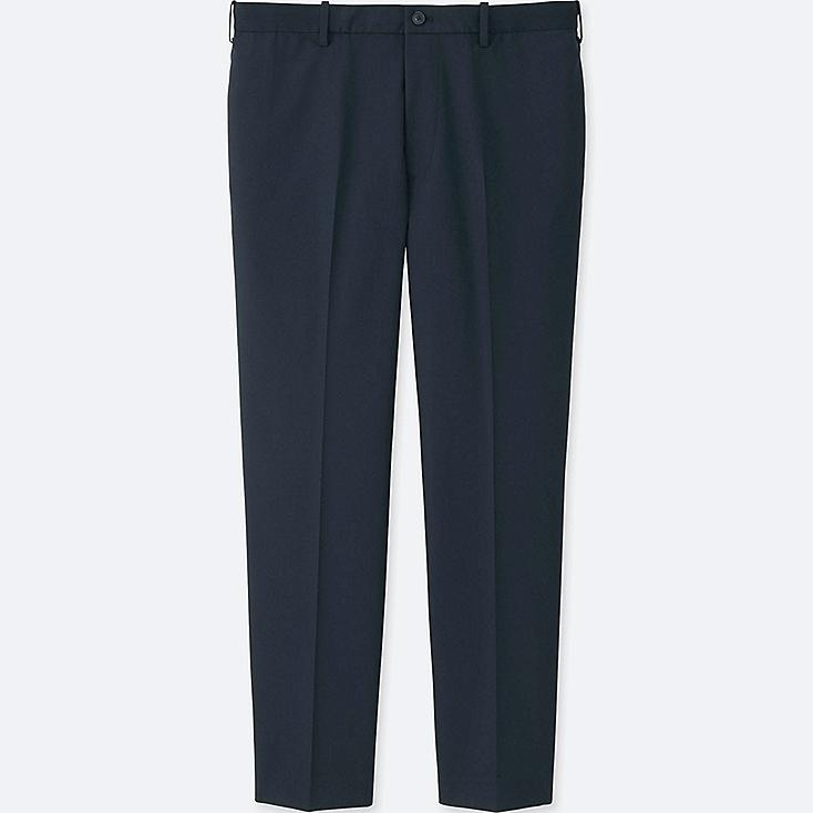 MEN RELAXED ANKLE-LENGTH PANTS (COTTON) | Tuggl