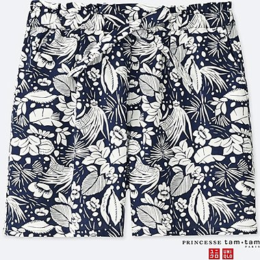 WOMEN PRINCESSE TAM.TAM SHORT PANTS (FLOWER)