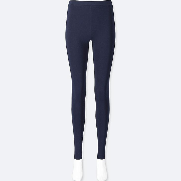 WOMEN HEATTECH EXTRA WARM LEGGINGS, NAVY, large