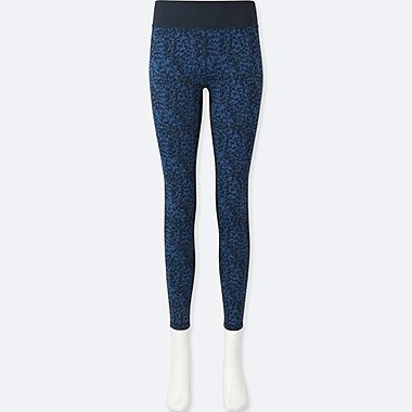 WOMEN SPRZ NY AIRism LEGGINGS (FRANCOIS MORELLET), NAVY, medium