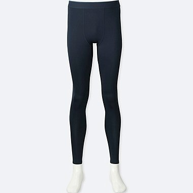 MEN AIRISM PERFORMANCE SUPPORT TIGHTS, NAVY, medium