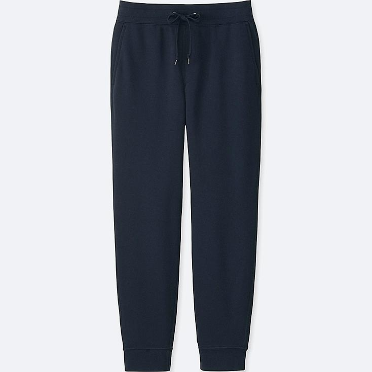 MEN SWEATPANTS, NAVY, large