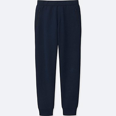 MEN DRY STRETCH SWEATPANTS, NAVY, medium