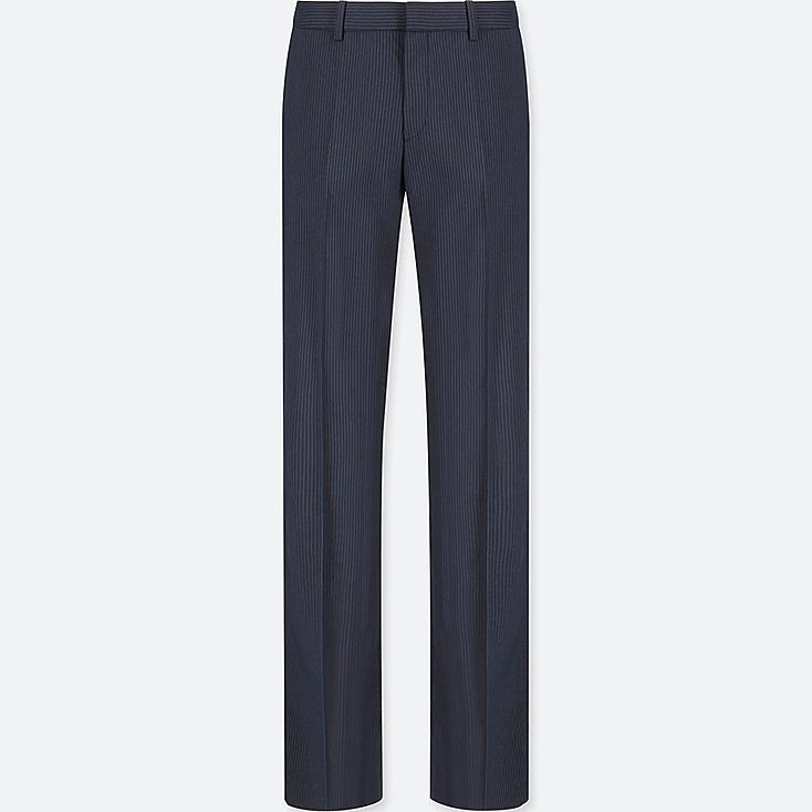 WOMEN STRETCH SET UP PANTS (ONLINE EXCLUSIVE), NAVY, large