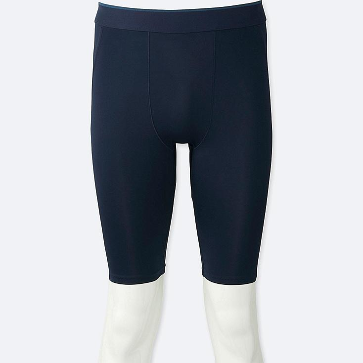 MEN AIRism PERFORMANCE SUPPORT SHORTS, NAVY, large