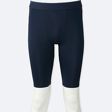 MEN AIRism PERFORMANCE SUPPORT SHORTS, NAVY, medium