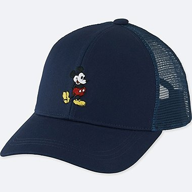 KIDS MICKEY STANDS MESH CAP, NAVY, medium