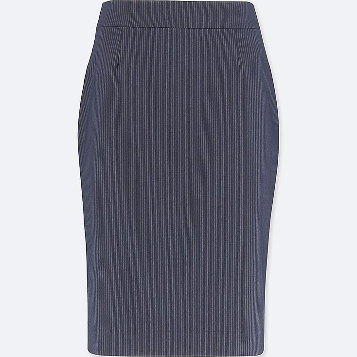WOMEN STRETCH SET UP SKIRT (ONLINE EXCLUSIVE), NAVY, large