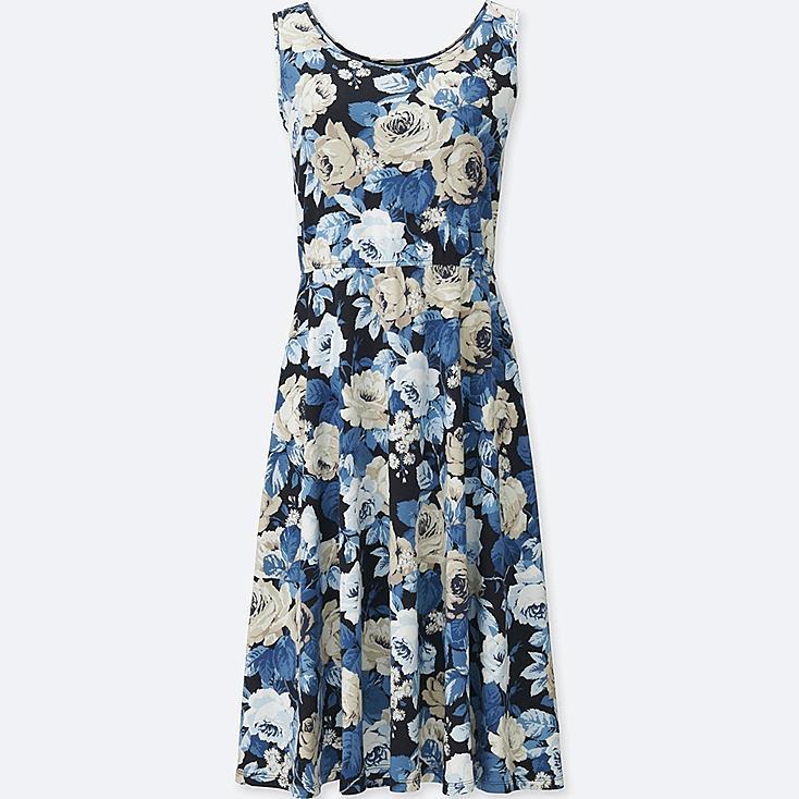 WOMEN STUDIO SANDERSON FOR UNIQLO BRA DRESS, NAVY, large