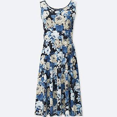 WOMEN STUDIO SANDERSON FOR UNIQLO BRA DRESS, NAVY, medium