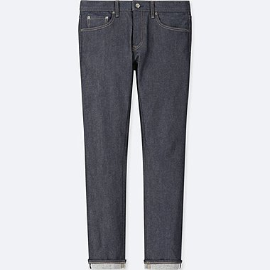 JEAN SELVEDGE STRETCH COUPE SLIM HOMME