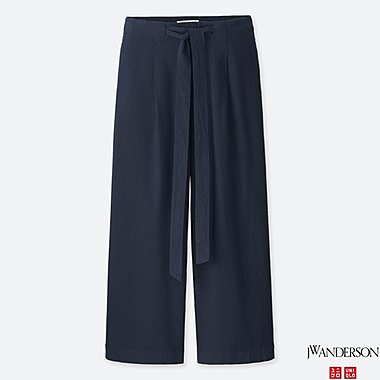 WOMEN J.W.ANDERSON WIDE CROPPED TROUSERS