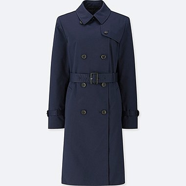 WOMEN DOUBLE BREASTED TRENCH COAT