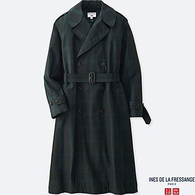 WOMEN TRENCH COAT (INES DE LA FRESSANGE), NAVY, medium