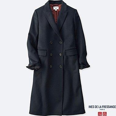 WOMEN Ines Wool Blended Coat