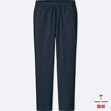 MEN Tomas Maier 100% COTTON POPLIN RELAXED TROUSERS