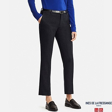 WOMEN INES SOFT TWEED TROUSERS