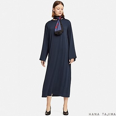 WOMEN HANA TAJIMA FLARED MAXI DRESS