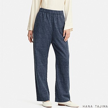 WOMEN HANA TAJIMA FLANNEL TAPERED TROUSERS