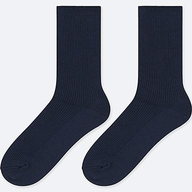 KIDS REGULAR SOCKS (SET OF 2), NAVY, medium