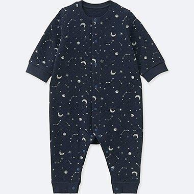 Baby Gesteppter Body (Nachthimmel)