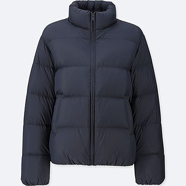 WOMEN ULTRA LIGHT DOWN VOLUME JACKET, NAVY, medium
