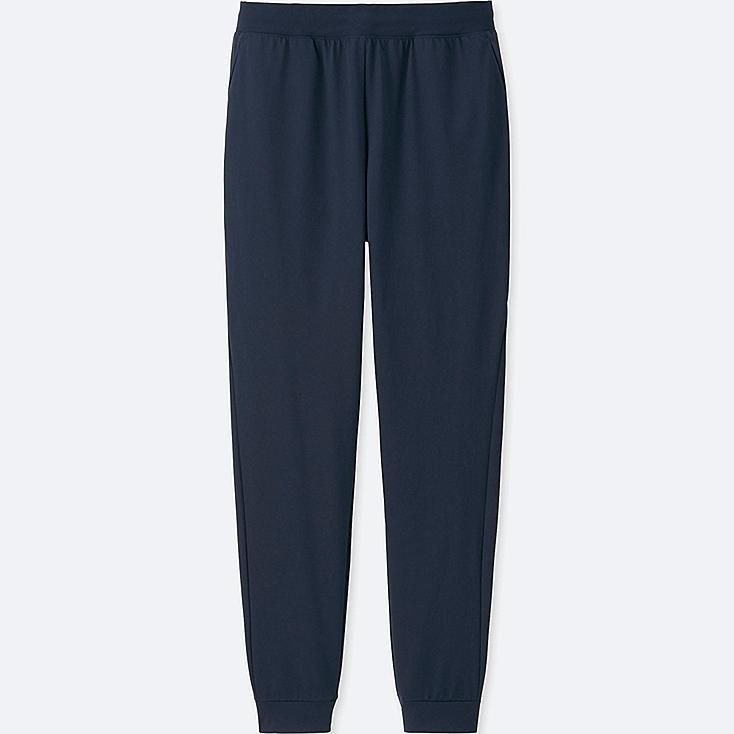 WOMEN DRY-EX ULTRA STRETCH ANKLE-LENGTH PANTS, NAVY, large