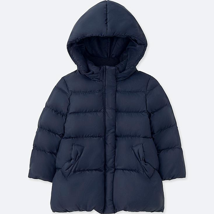 TODDLER WARM PADDED COAT, NAVY, large
