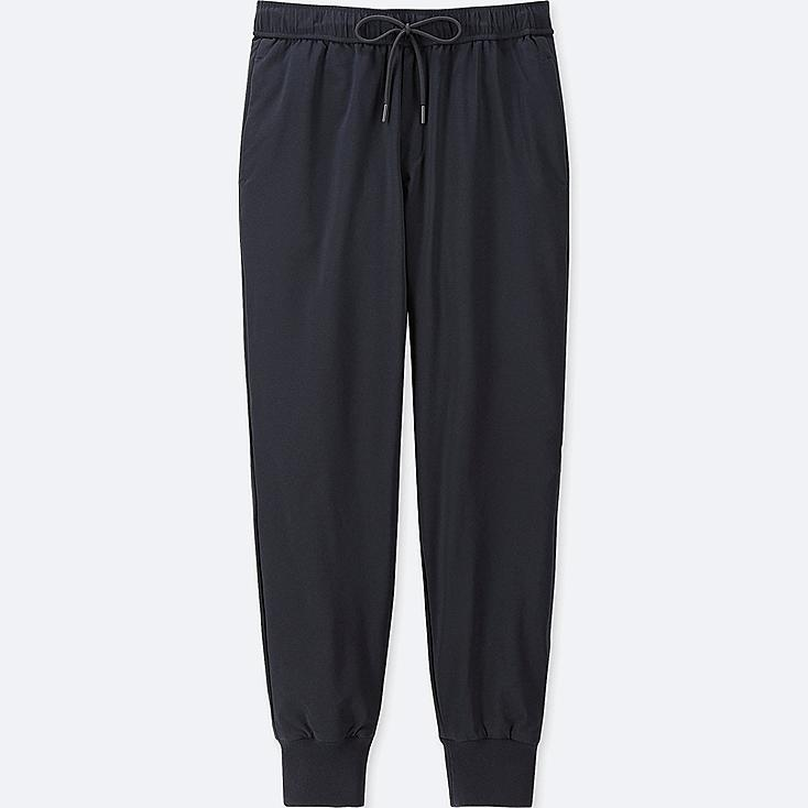 WOMEN WINDPROOF EXTRA WARM-LINED PANTS (ONLINE EXCLUSIVE), NAVY, large