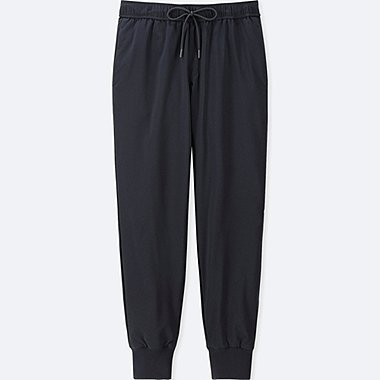 WOMEN WINDPROOF EXTRA WARM-LINED PANTS (ONLINE EXCLUSIVE), NAVY, medium