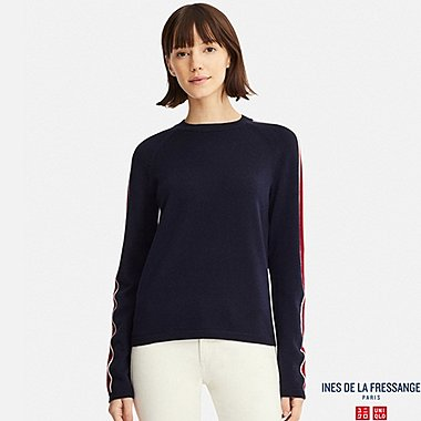 INES - PULL MÉRINOS EXTRA FIN COL ROND FEMME