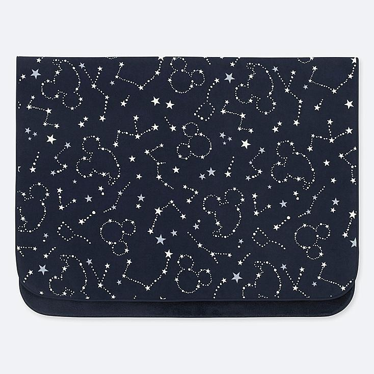 DISNEY HOLIDAY COLLECTION FLEECE BLANKET, NAVY, large