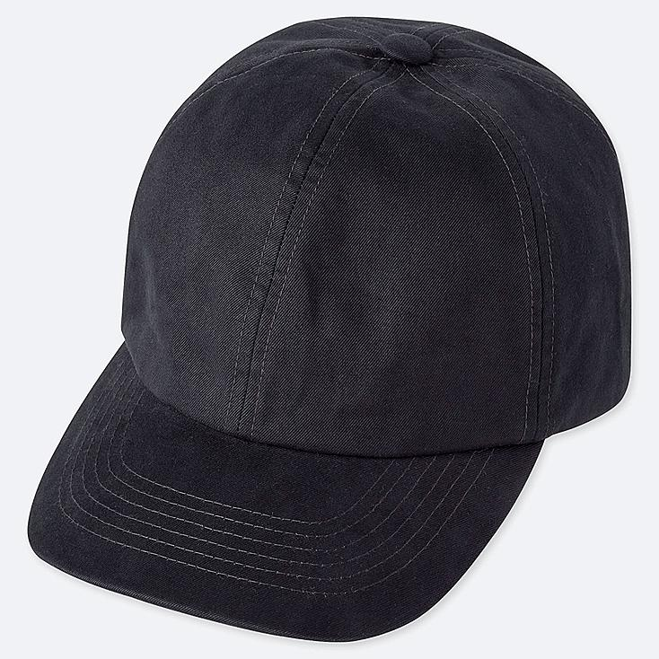 COTTON TWILL CAP, NAVY, large