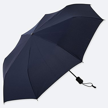 COMPACT UMBRELLA, NAVY, medium