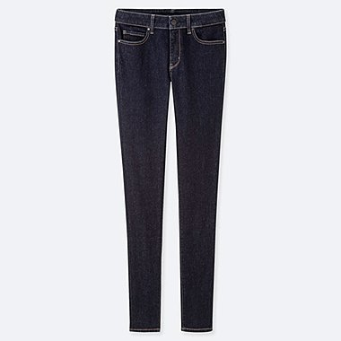 WOMEN ULTRA STRETCH JEANS, NAVY, medium