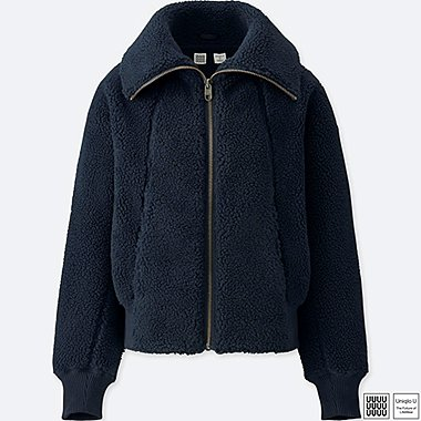 Damen U Fleece-Blouson