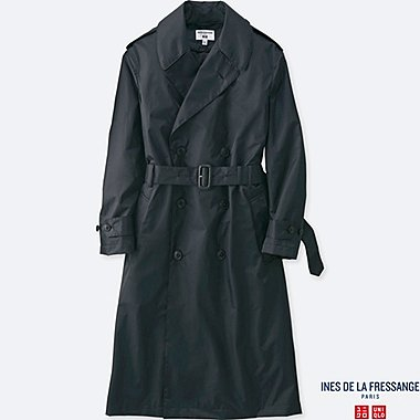 WOMEN INES DOUBLE BREASTED TRENCH COAT