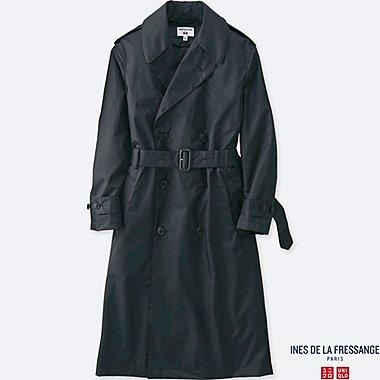 WOMEN Ines Nylon Trench Coat