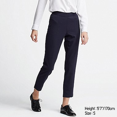DAMEN HOSE AUS PONTE-STRICK (SLIM FIT)