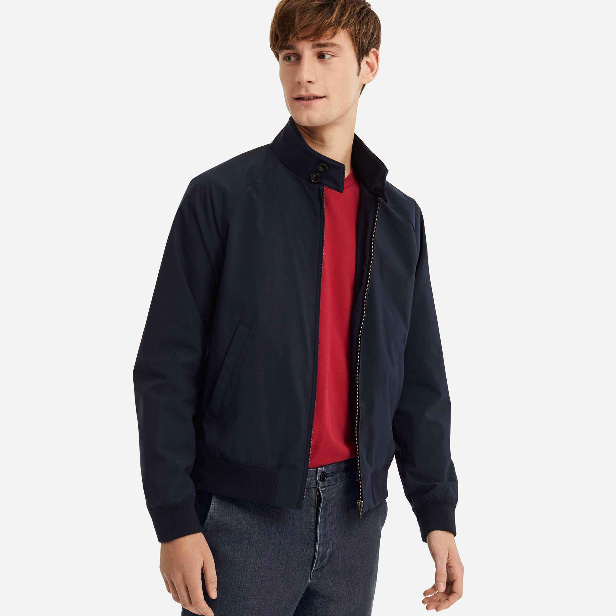 22d958349 MEN HARRINGTON JACKET