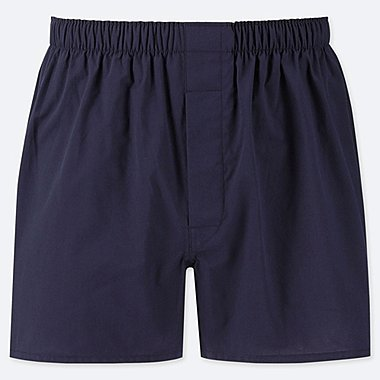 MEN WOVEN BROAD TRUNKS