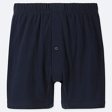 MEN KNIT BOXER TRUNKS