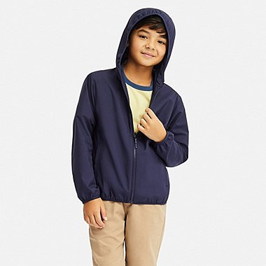 KIDS POCKETABLE PARKA