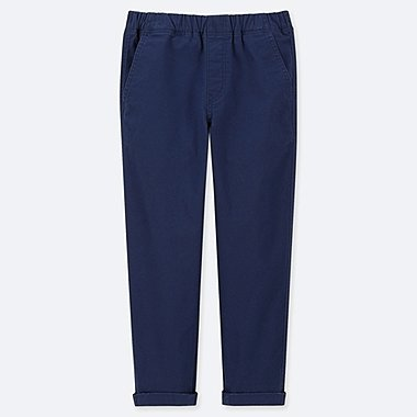 BOYS RELAXED FIT TAPERED ANKLE LENGTH TROUSERS