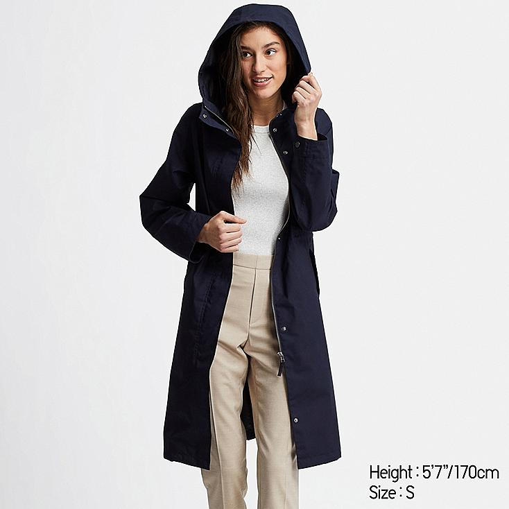 WOMEN BLOCKTECH MODS COAT, NAVY, large