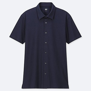 MEN AIRISM JERSEY SHORT SLEEVED POLO SHIRT