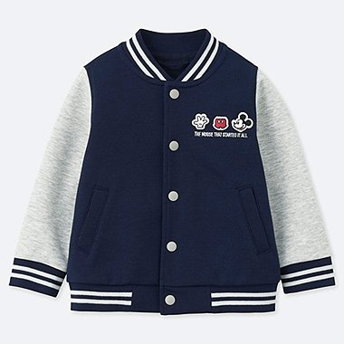 TODDLER CELEBRATE MICKEY BLOUSON, NAVY, medium